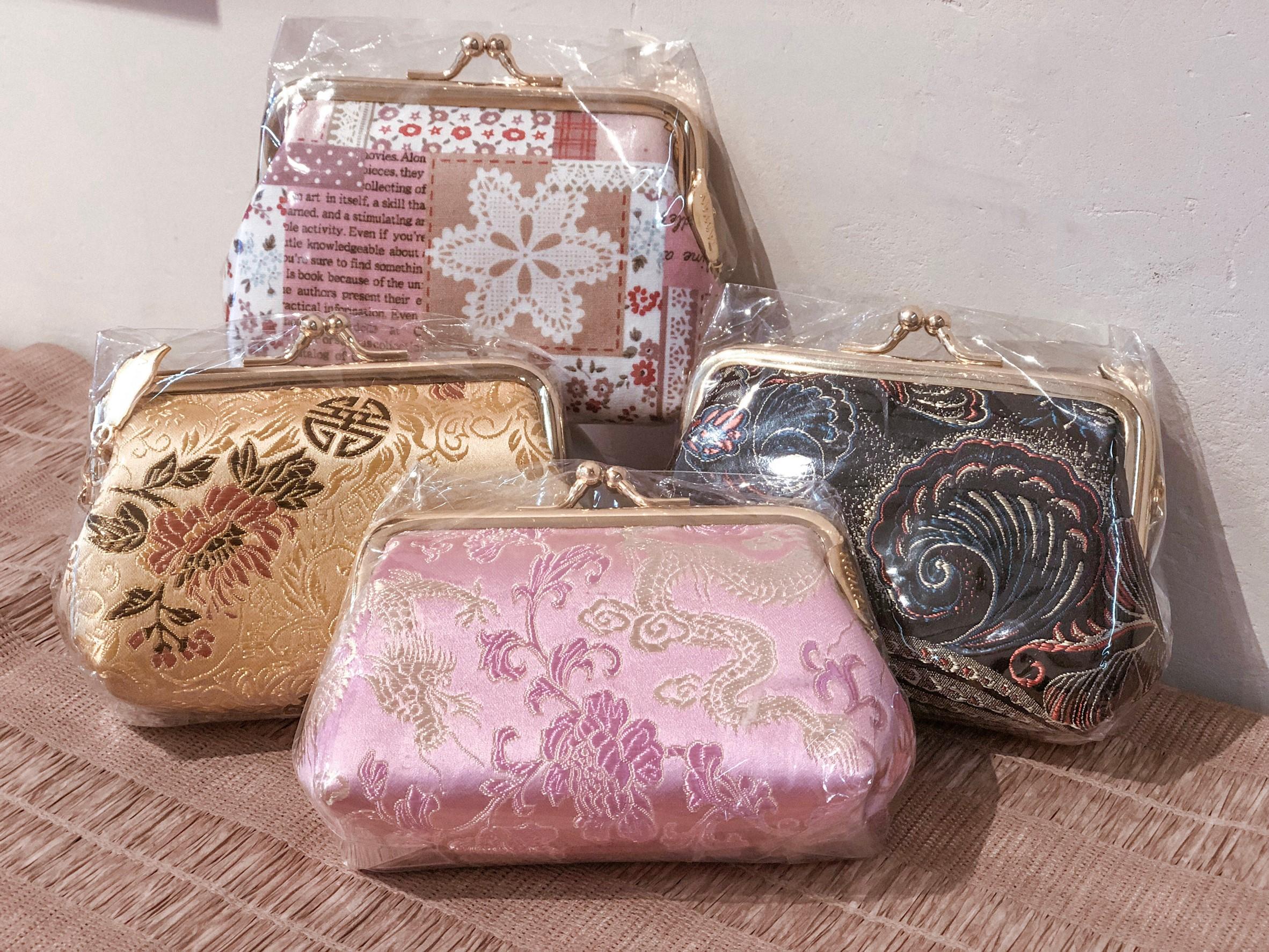 手作りのがま口財布のメイン画像